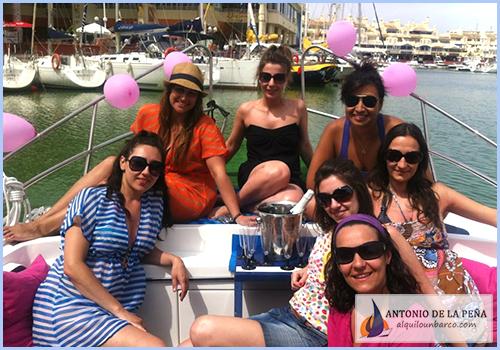 Despedidas de soltero y soltera en barco - Málaga