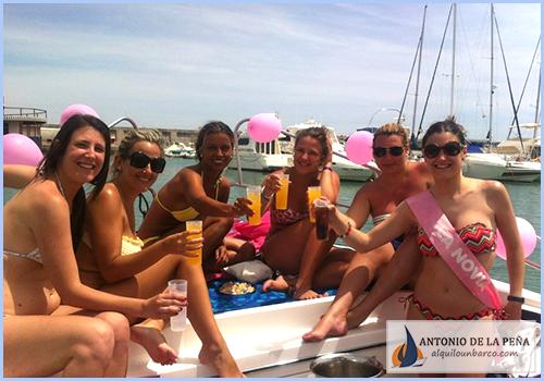 Despedidas de soltero y soltera en barco - Benalmádena Costa