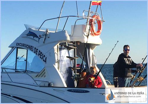 Salidas de Pesca en Puerto Marina-Málaga